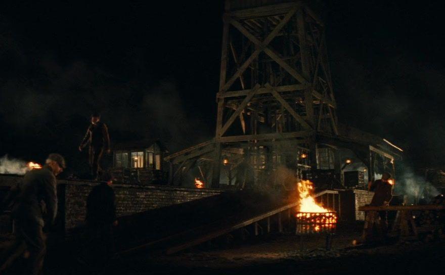 На угольной шахте