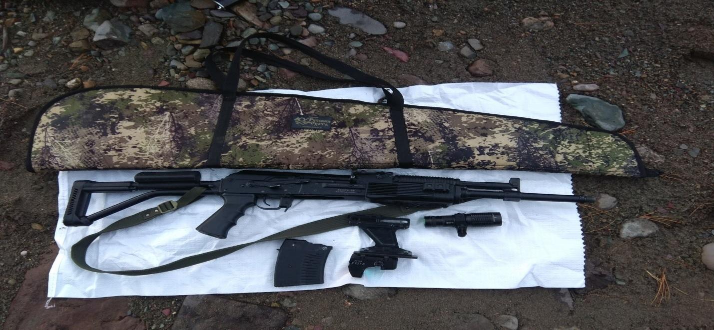 Оружие, из которого житель Республики Алтай угрожал убийством туристам