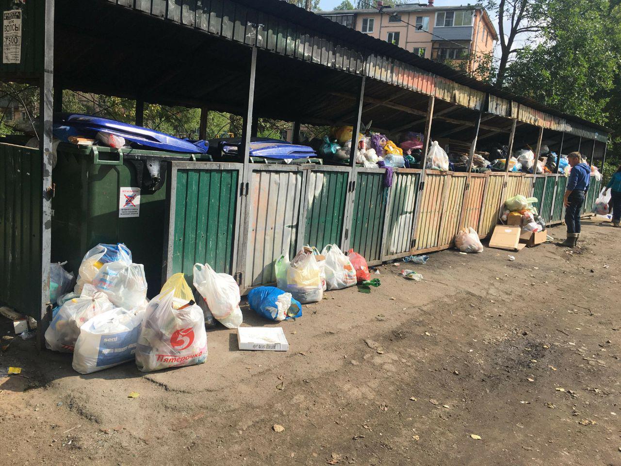 Начало работы регоператора вызвало жалобы жителей на вывоз мусора