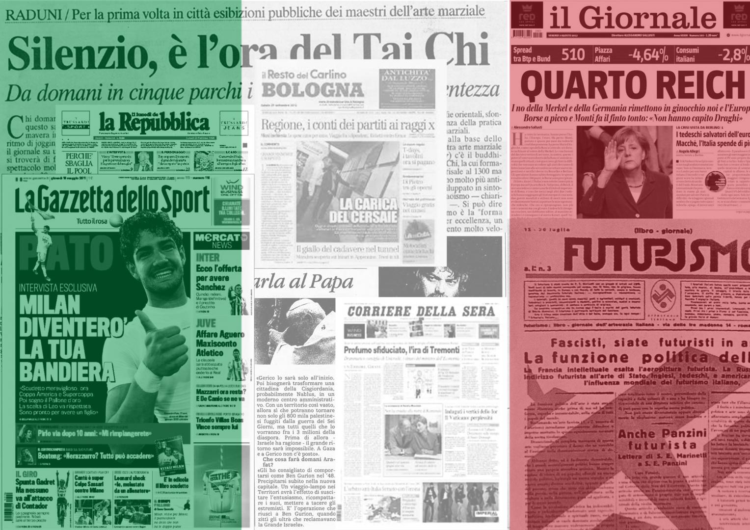 Итальянские СМИ