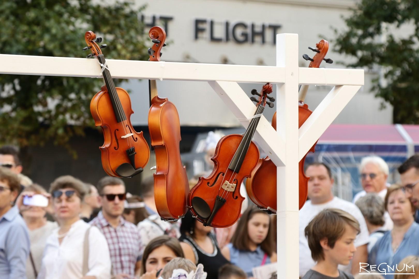 Мастер-класс по изготовлению скрипки