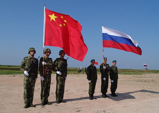 Совместные российско-китайские учения
