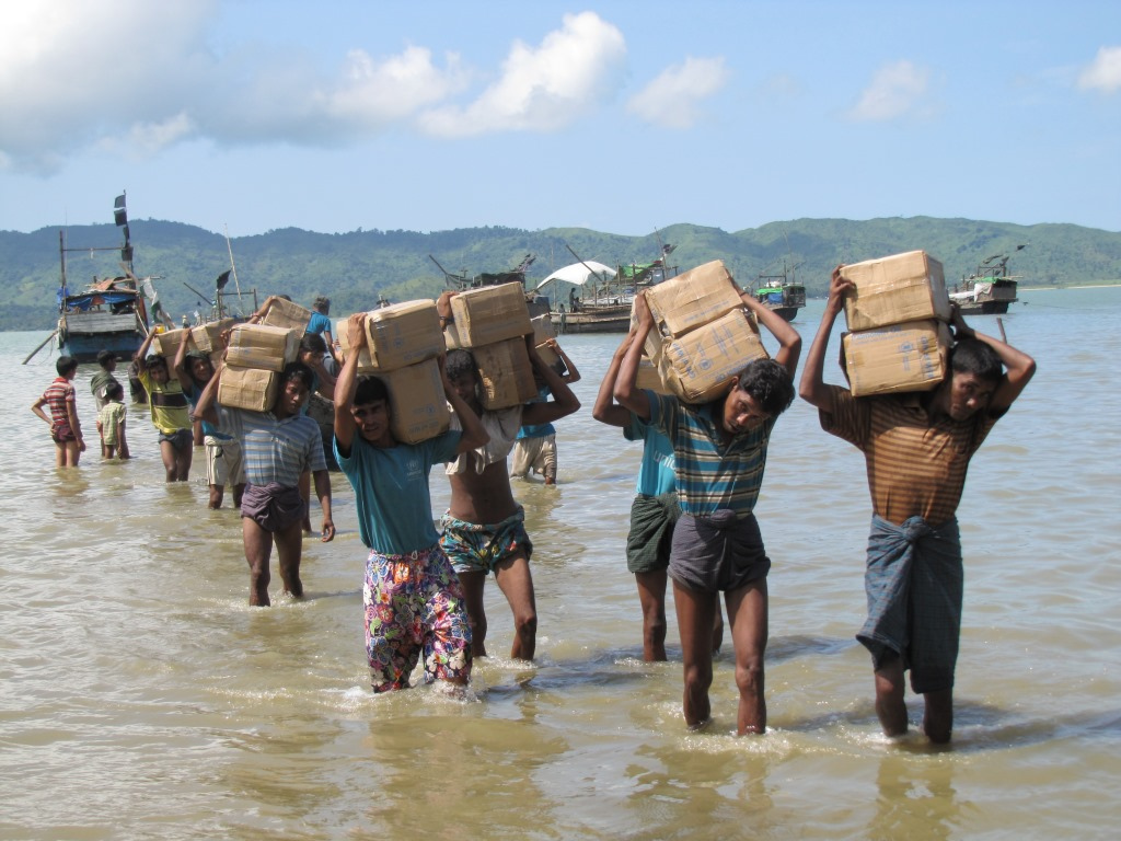 Рохинджа. Мьянма