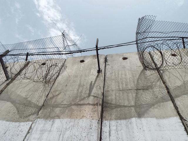 Стена между Израилем и Палестиной