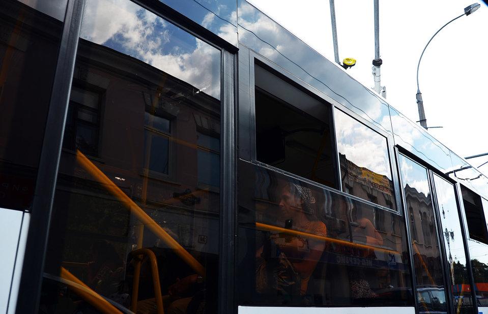 Общественный транспорт. Ялта