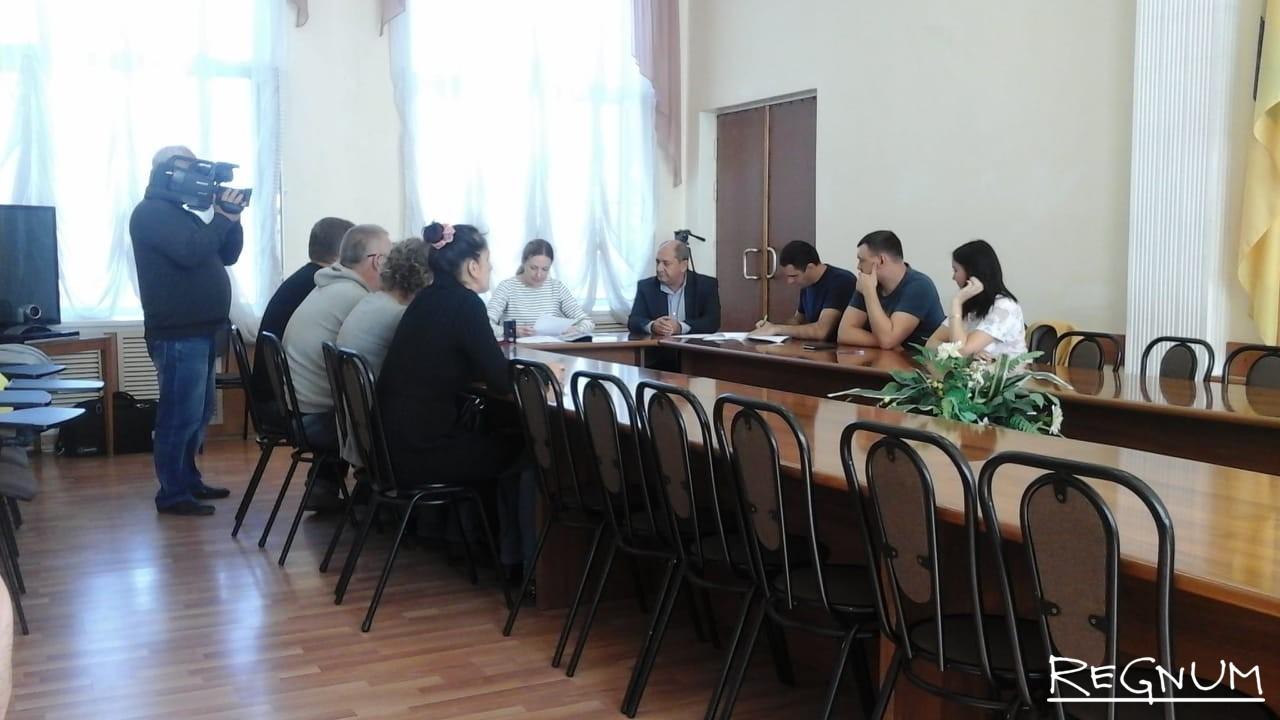 Заседание комиссии в Переславле