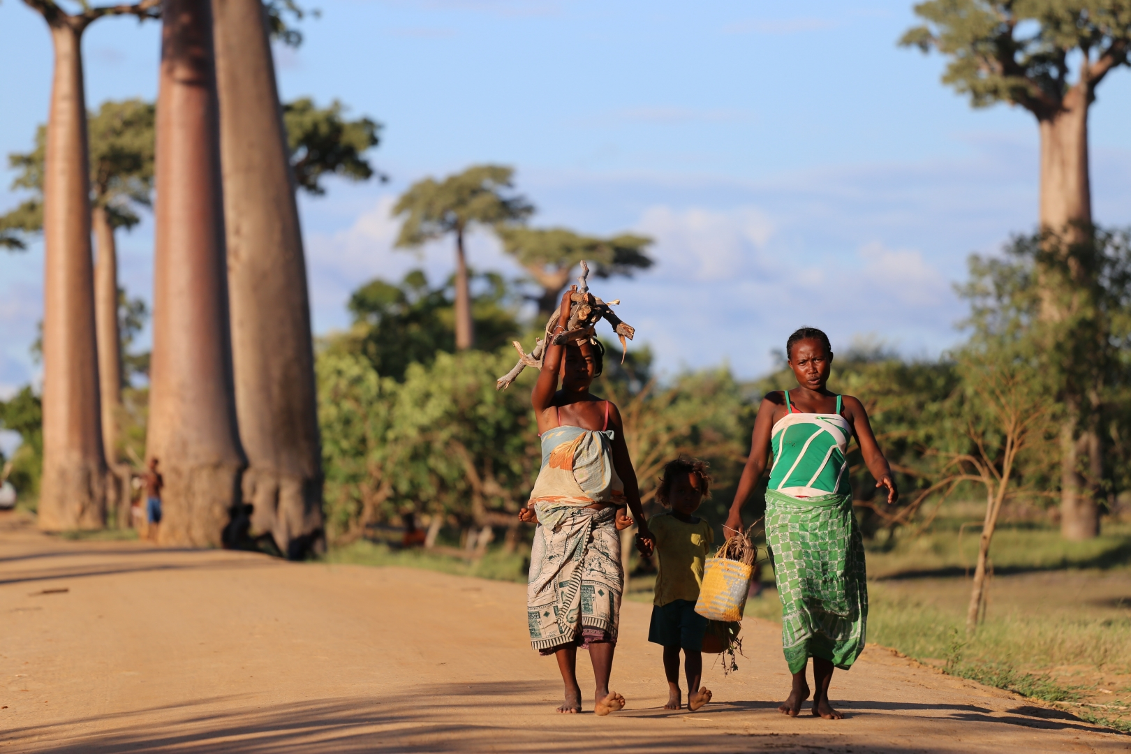 Жители Мадагаскара