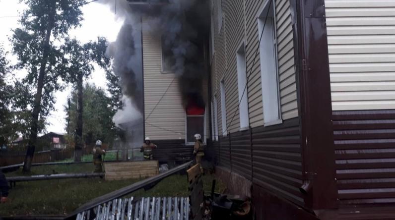 В Ботаником районе Иркутской области спалили здание местной администрации