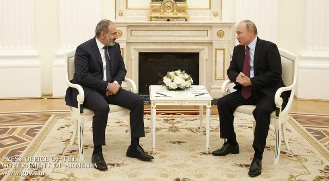 Москва подтвердила официальный визит Путина в Армению