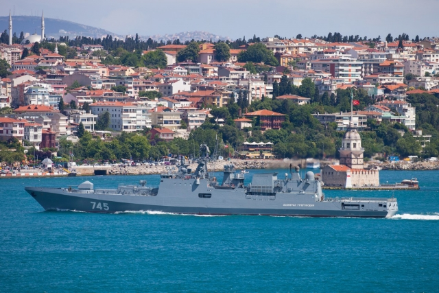 Учения ВМФ РФ в Средиземном море
