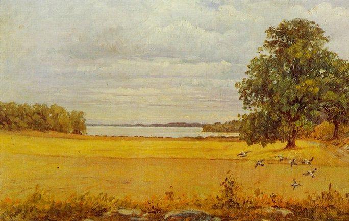 Хильма аф Клинт. Конец лета (фрагмент). 1903