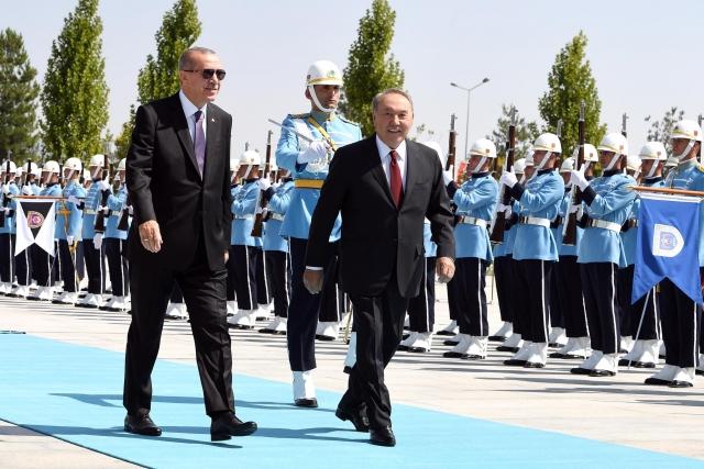 Назарбаев принял участие в казахстанско-турецком стратегическом совете