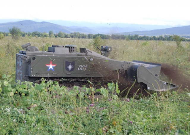 На учениях «Восток-2018» применялись российские боевые роботы «Уран»