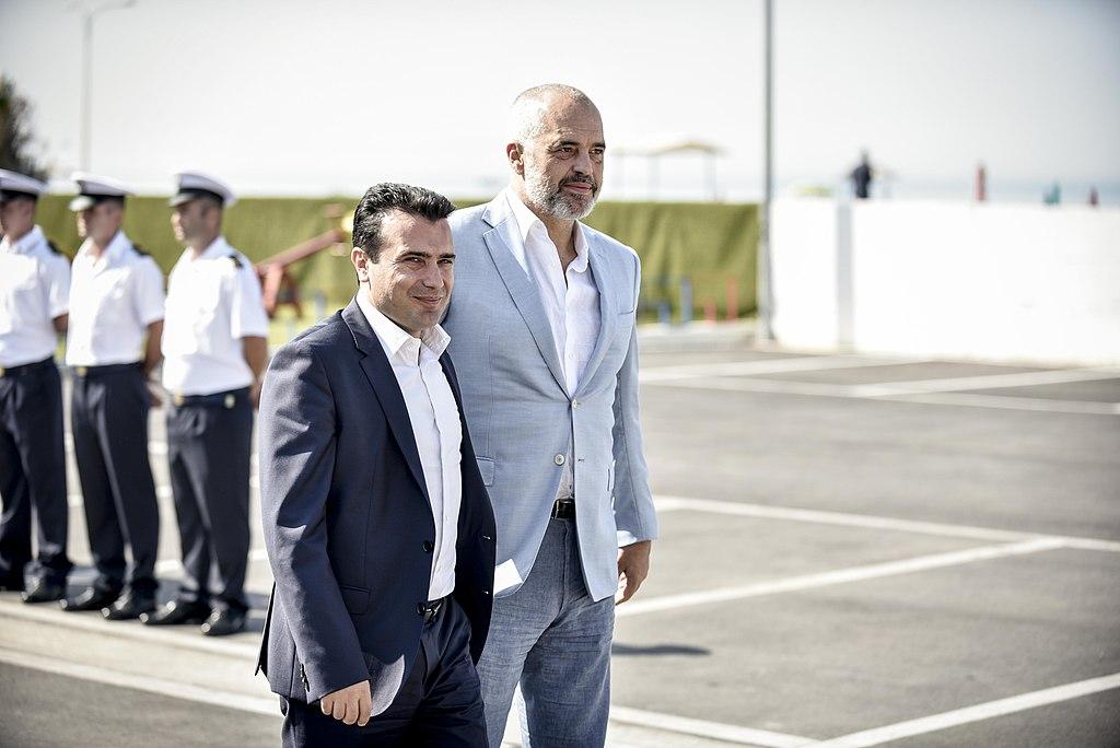 Зоран Заев и Эди Рама