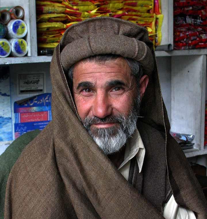 Пуштун из Пакистана