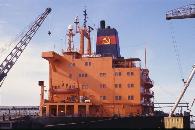 Грузовое судно «Александр Савельев» Черноморского пароходства