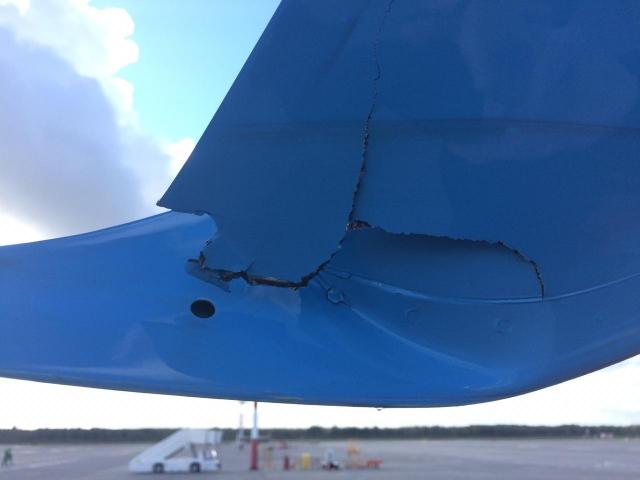 Самолет «Победы» после инцидента в «Пулково» обследуют специалисты