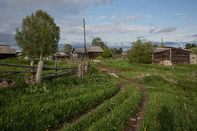 Вид с окраины села Керчомья
