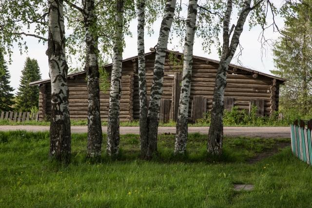 Центральная улица села Керчомьи