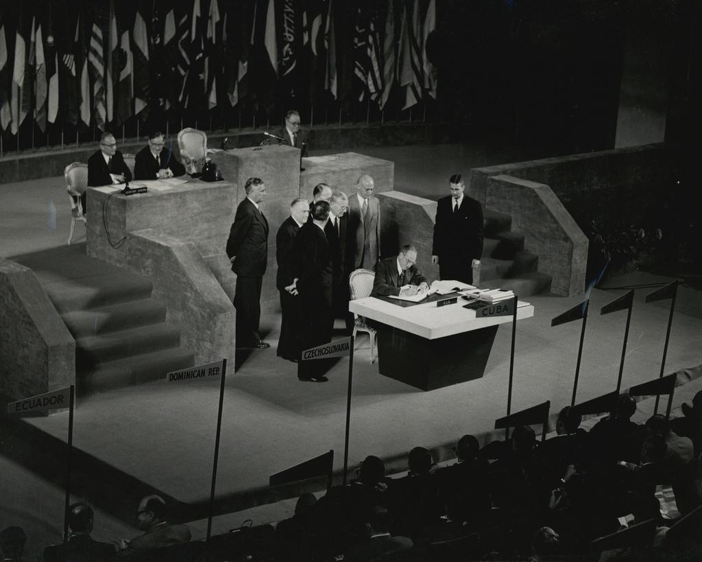 Подписание договора в Сан-Франциско 8 сентября 1951 года