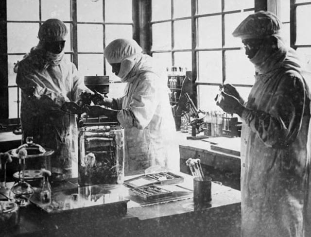 Японская лаборатория времен Второй мировой войны по разработке бактериологического оружия