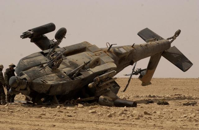 В Афганистане разбился вертолет: все погибли