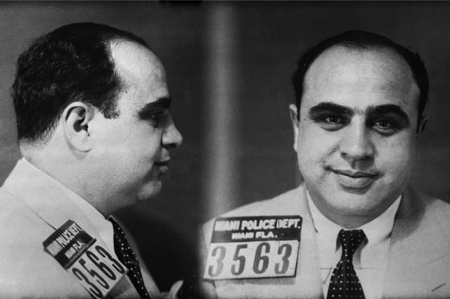 Арестованный Аль-Капоне