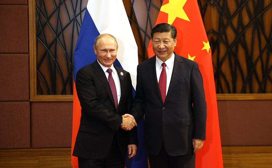 Владимир Путин и Си Цзинпинь
