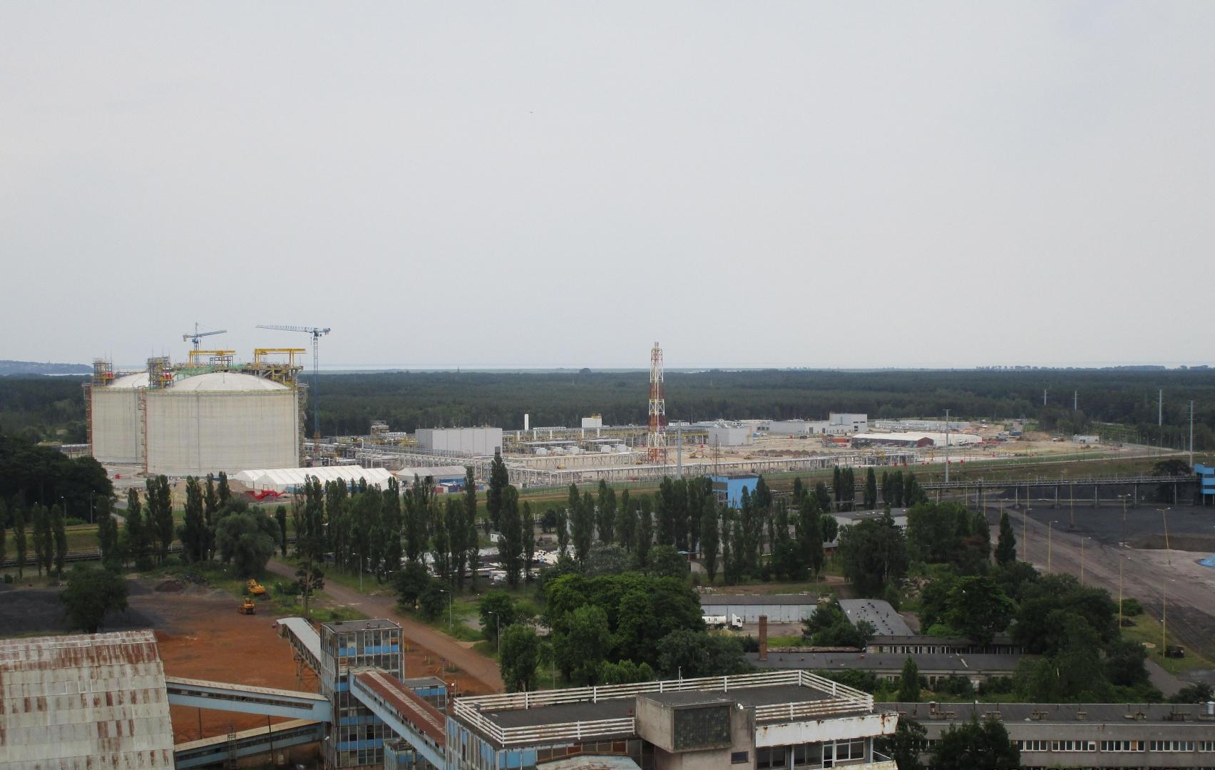 СПГ-терминал. Свиноуйсьце