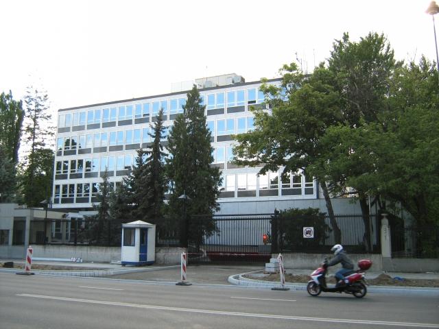 Посольство США в Польше. Варшава