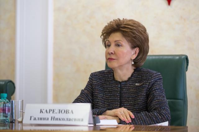 Губернатор Воронежской области утвердил сенатором Галину Карелову