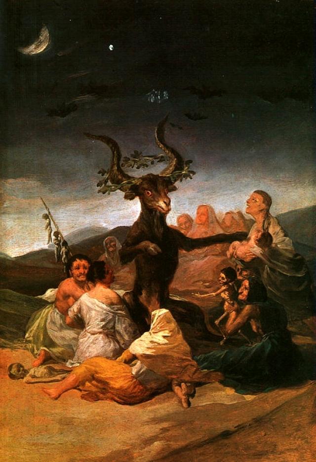 Франсиско Гойя. Шабаш ведьм в стране басков. 1798