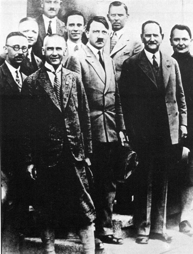 Руководство НСДАП в конце 1920-х годов