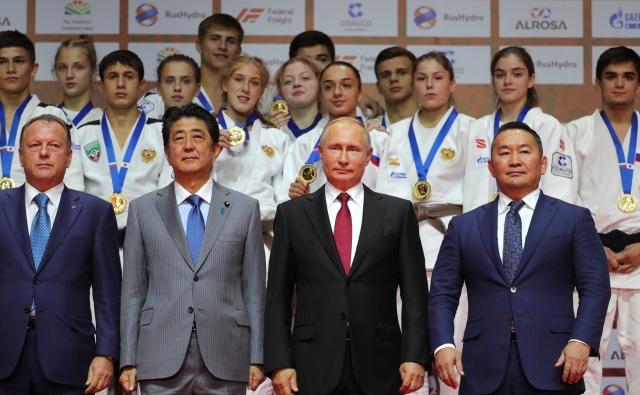 Дипломатическое дзюдо Путина