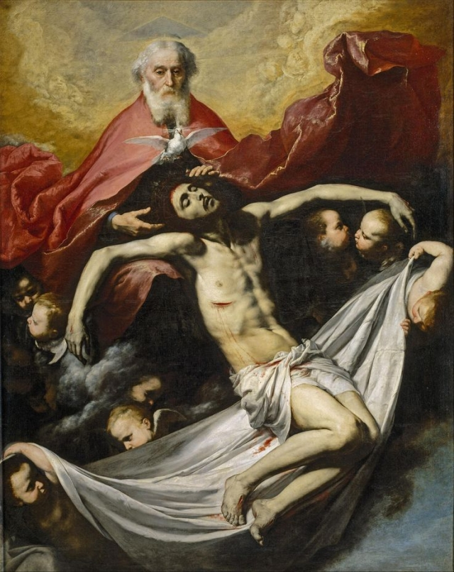 Хосе де Рибера. Святая Троица. 1635