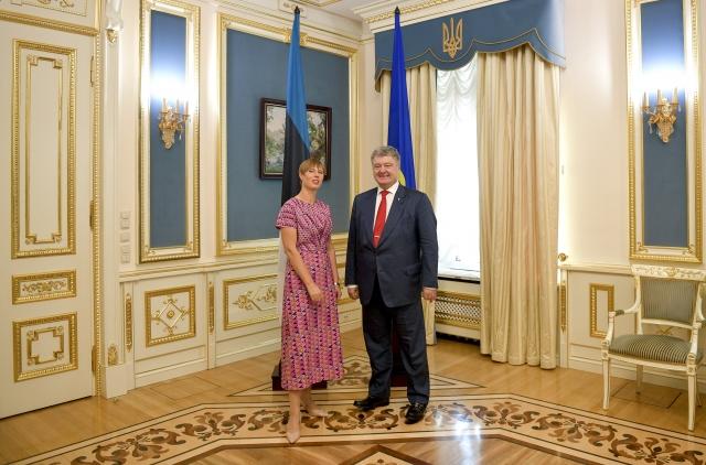Эстония —  Украине: «Вы должны продемонстрировать конкретные реформы»
