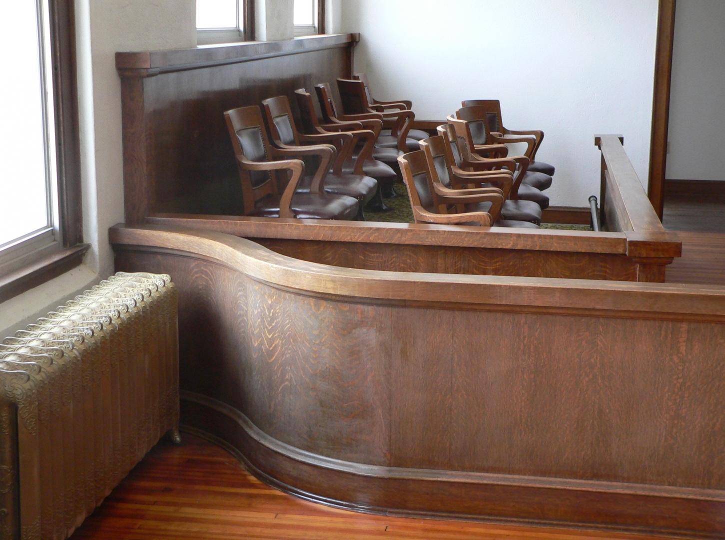 Скамья присяжных