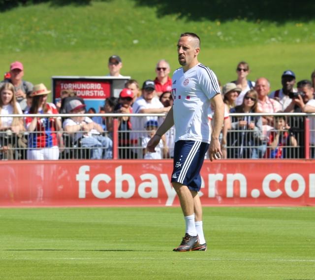 «Бавария» может наказать Рибери, покинувшего матч за 7 минут до окончания