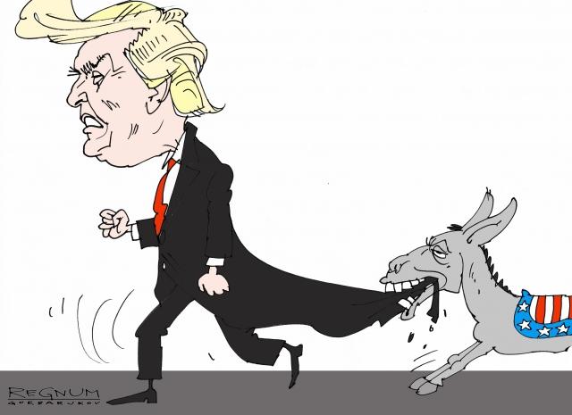 Обама ведёт наступление на Белый дом, а Белый дом «атакует» Россию