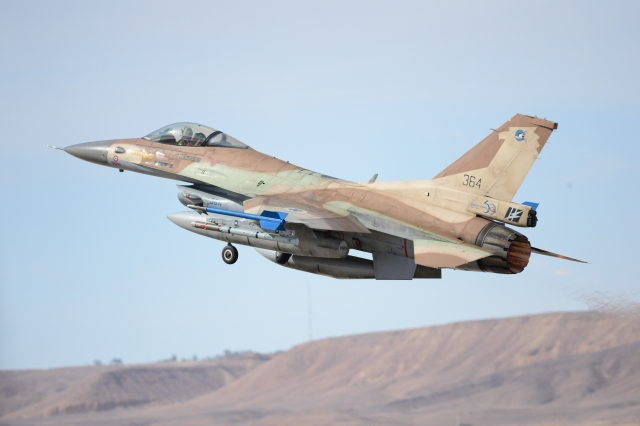 Истребитель F-16 ВВС Израиля