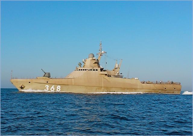 Опубликованы фото модульных российских патрульных кораблей проекта 22160