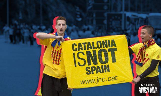 В Каталонии снова проходят массовые демонстрации за независимость