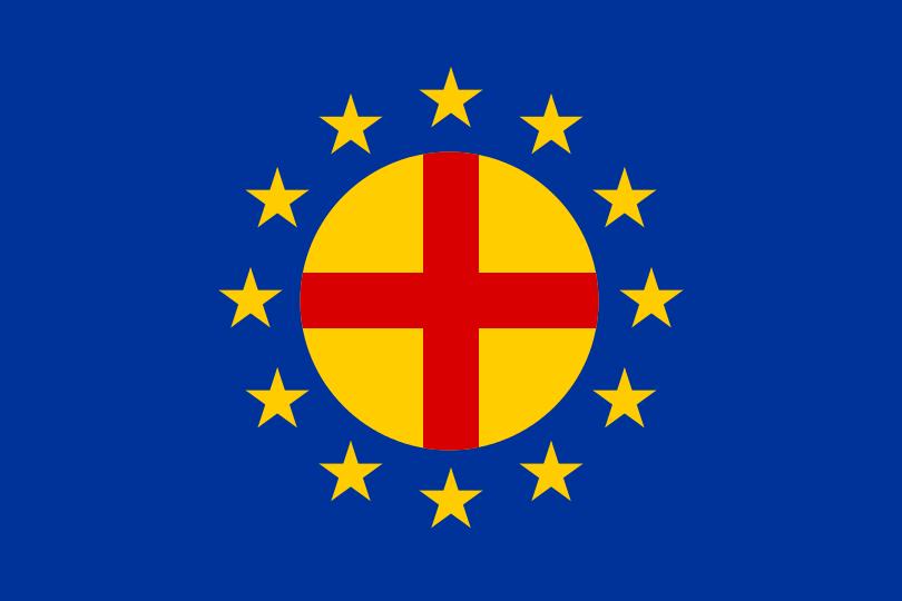 Флаг Панъевропейского союза