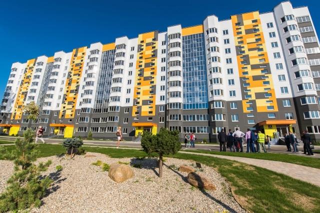 В калужском Обнинске торжественно открыли «Белорусский квартал»