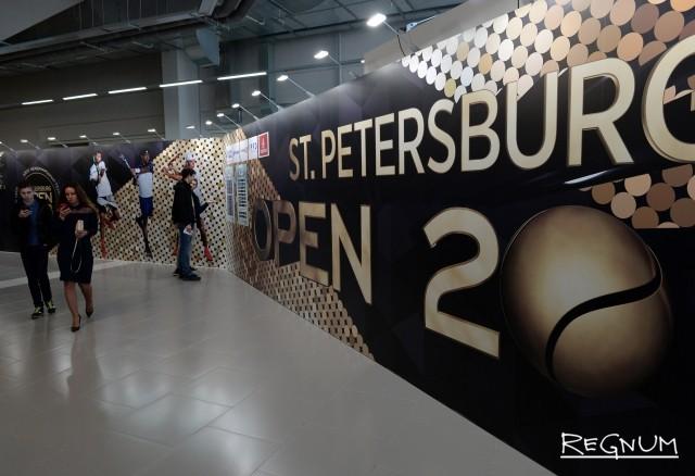 Финал теннисного турнира St. Petersburg Open: Фоторепортаж