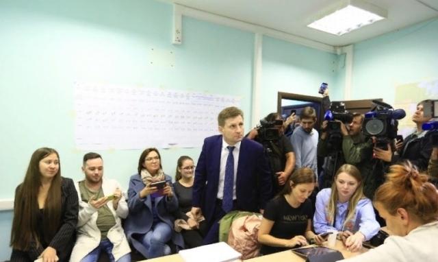 Победу на выборах губернатора в Хабаровском крае одержал Сергей Фургал