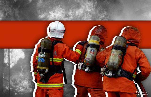 В Германии на электрохимическом предприятии произошел пожар