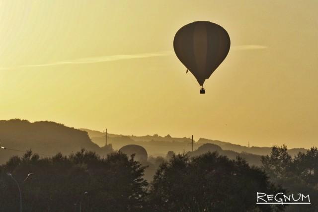 Легче ветра: фоторепортаж из корзины воздушного шара