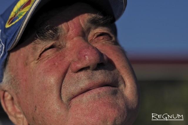 Самый старший, восьмидесятилетний, пилот России Михаил Найдорф