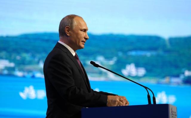 Выступление Владимира Путина на пленарном заседании Восточного экономического форума